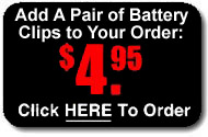 Add a pair of battery clips to your order