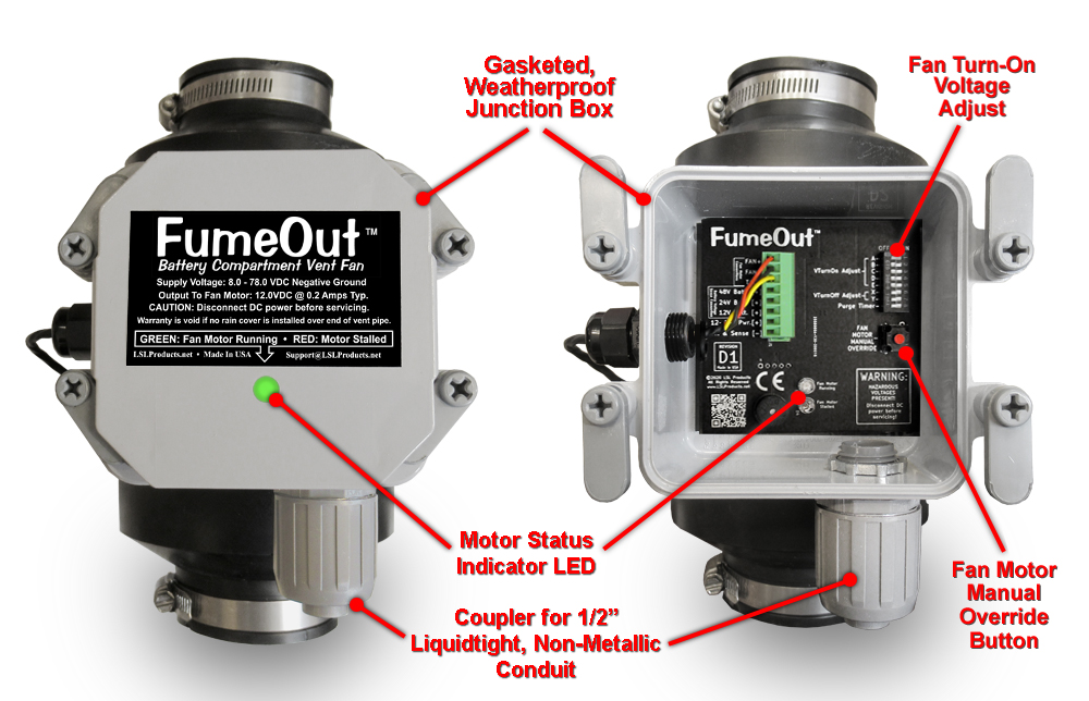 FumeOut Features