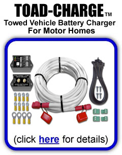 TOAD-CHARGE Towed Vehicle Battery Charger